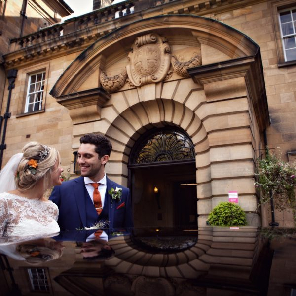 Crathorne Hall Wedding Photography/Katy & Steve /Wedding Photographer at Crathorne Hall