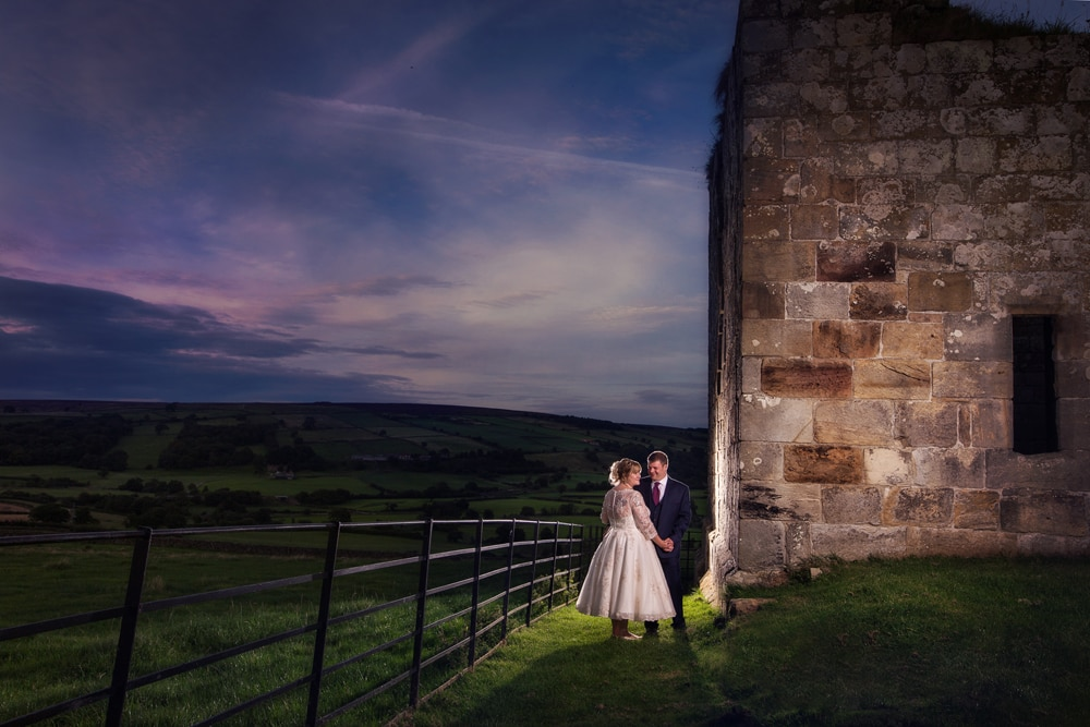 Danby Castle wedding photography