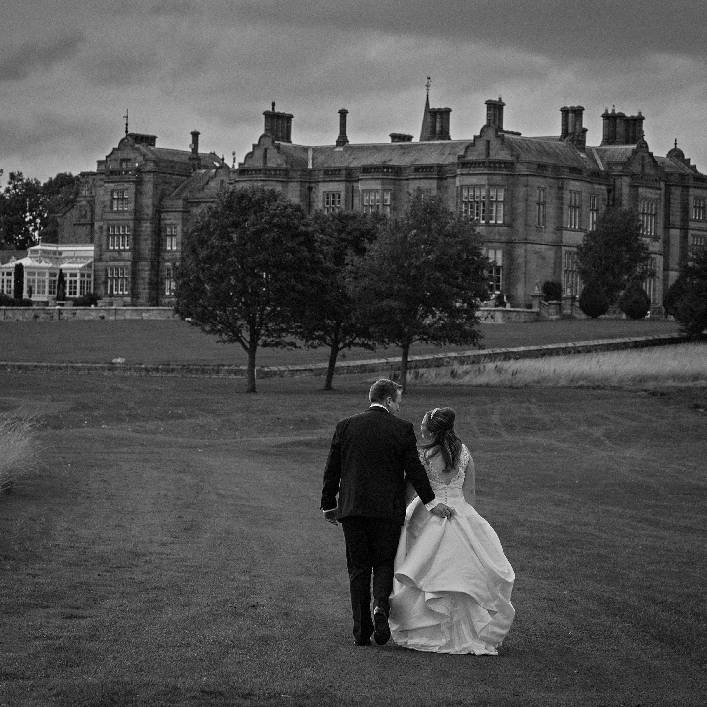 Slayley Hall Wedding Photo