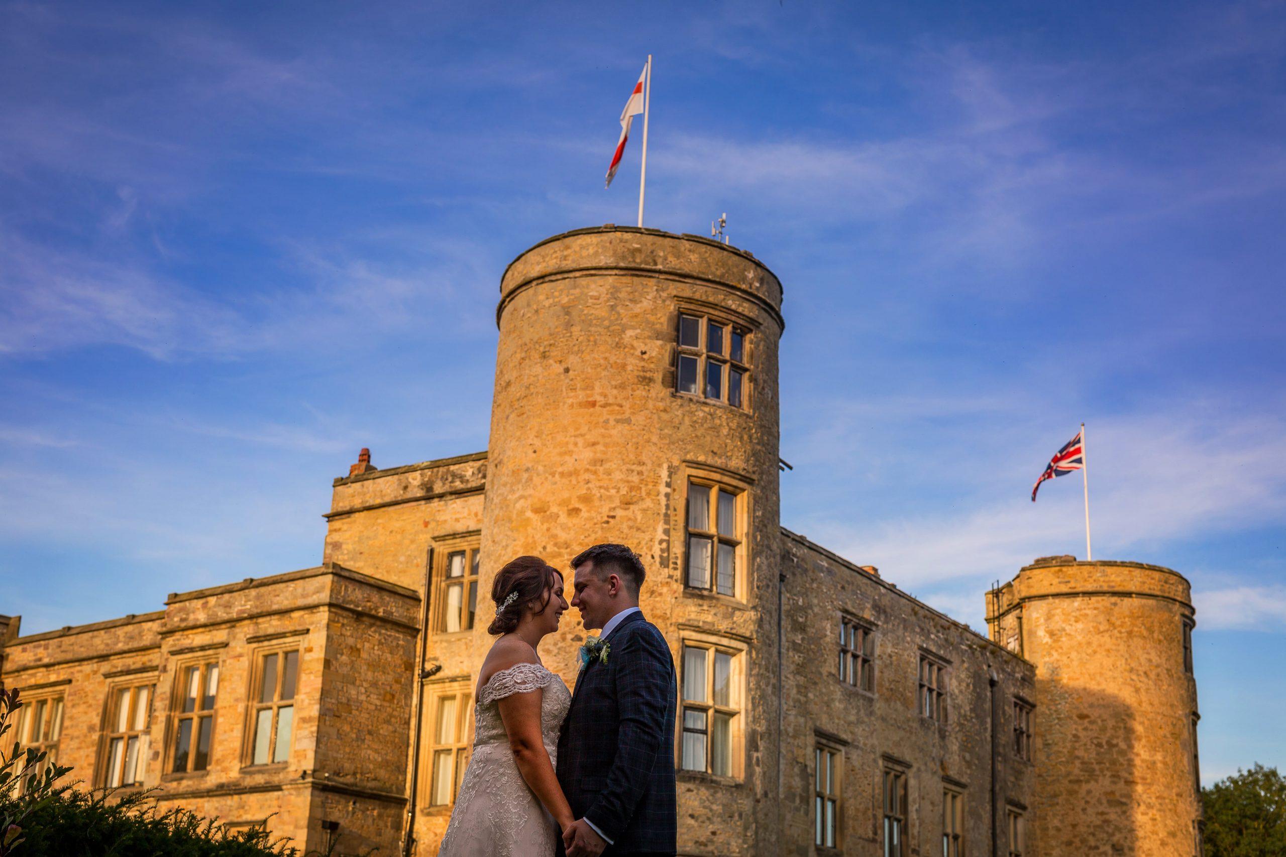 Walworth Castle Wedding Photo